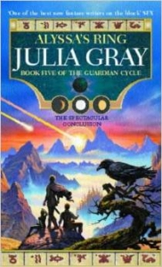 Alyssa's Ring (book 5 of The Guardian Cycle) by Julia Gray (book review).