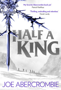Half A King (Shattered Sea book # 1) by Joe Abercrombie (book review).