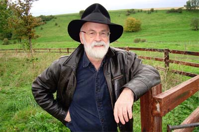 Goodbye Terry Pratchett.