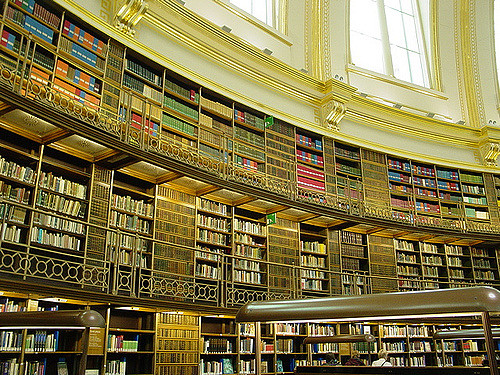 Spending on local libraries in the UK falls by £25m.
