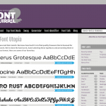 Free Fonts for your book's typesetting? Font of all knowledge.
